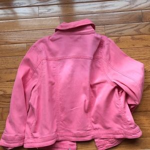 ONE WORLD Jackets & Coats - 2 One World Med. 3/4 sleeve crop Jean jackets